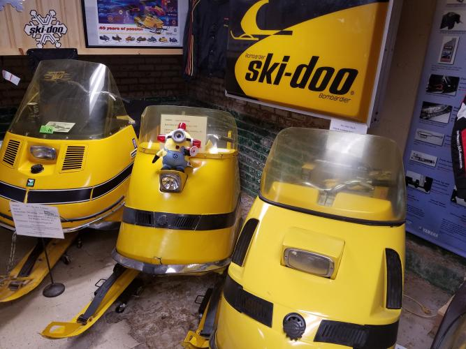 1968 Ski-Doo Super Olympique